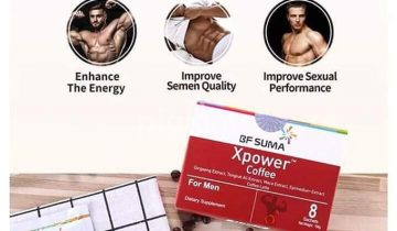 What is in XPower Coffee for Men?